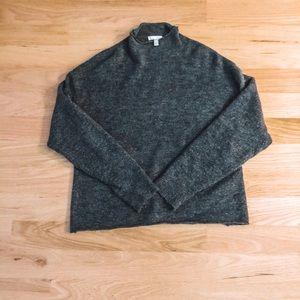 Leith Mock Neck Turtleneck Sweater